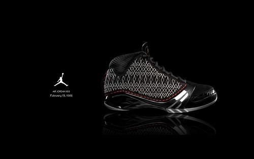 Black Air Jordan Basketball Shoes