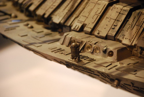 R2D2 on Close Encounters Mother Ship model | by afagen