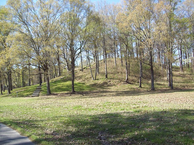 Mound at Poverty Point