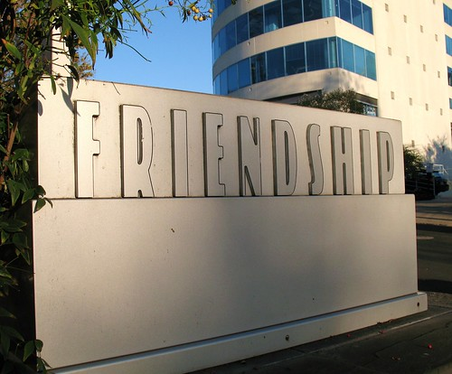 Friendship Animal Hospital Sign Sign For The Friendship Ho Flickr