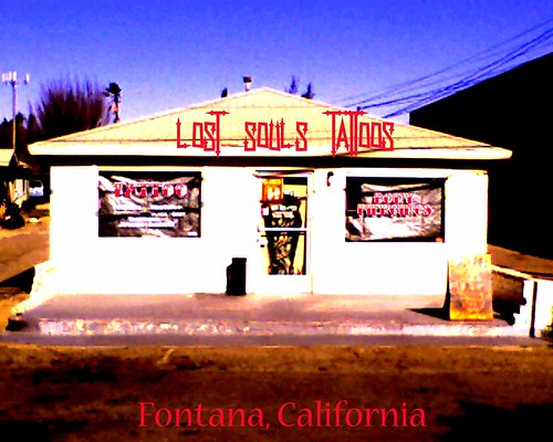 lost souls tattoo shop from fontana now in upland ca