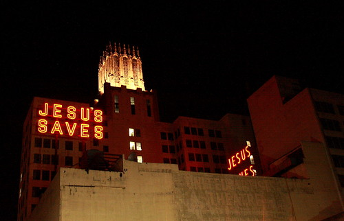 Jesus Saves | by Marc Evans Photography