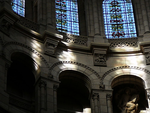 Sacre Coeur interior dome