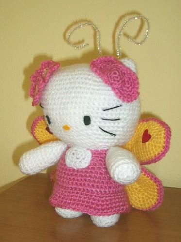 Hello Kitty Mariposa Amigurumi : Amigurumi Crochet Hello Kitty Butterfly Sabina Flickr