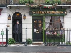 Музей Шерлока Холмса. Sherlock Holmes Museum