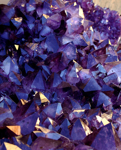 Blue Purple Red:  Amethyst Crystals | by cobalt123