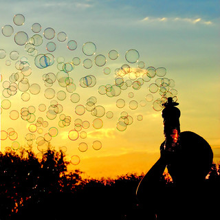 Bubble Sunset | by khosey1