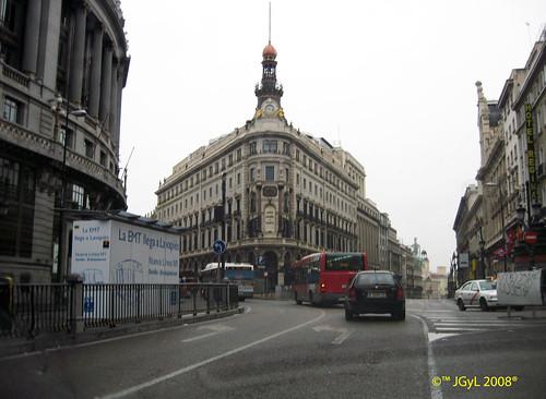 calle alcal direcci n puerta del sol km 0 de madrid 2008