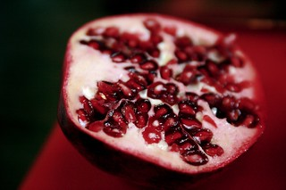 half of a pomegranate | by massdistraction