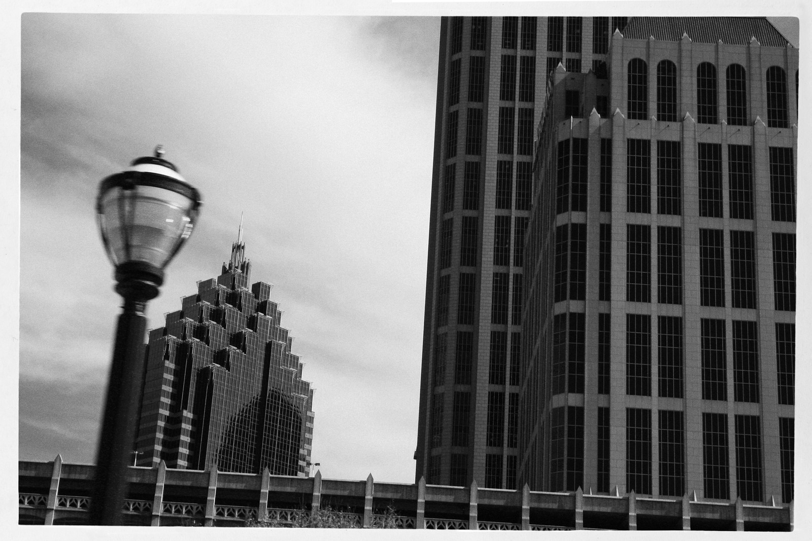 Midtown Atlanta with Lamp, 2013