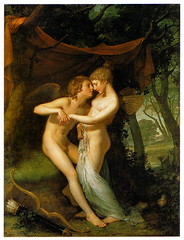 """Cupid and Psyche in the Nuptial Bower"" 