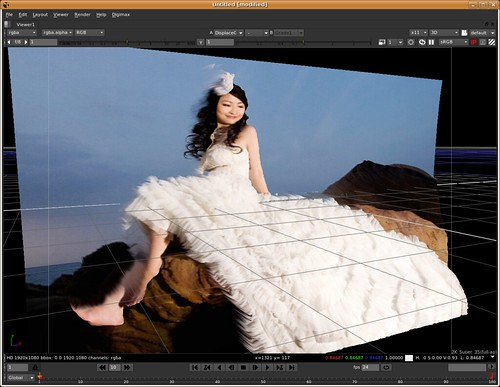 Filip's wedding photo in 3-D @ Nuke | by Drake Guan