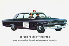 1963 Ford Police Interceptor #1 | by aldenjewell