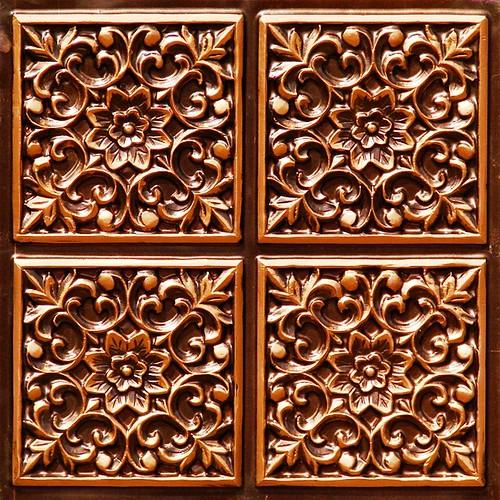 Copper Garden Decor