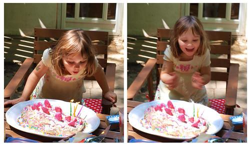 Dinosaur Shaped Birthday Cakes