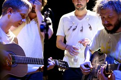 Mike Noyce, Matthew McCaughan, Sean Carey and Justin Vernon | by .melanie