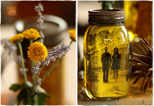 Mason Jars and Oil | by augustandafter