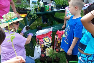 Family gardening | by derrypubliclibrary