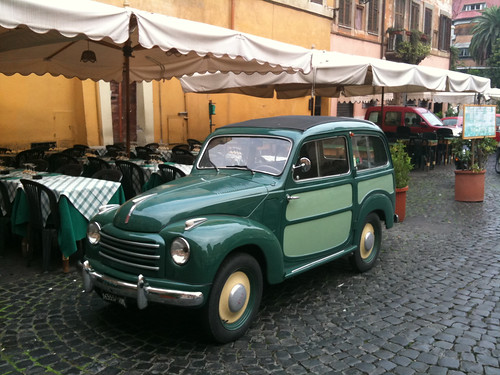 Cool Old Car in Trastevere, Rome | by paz.ca