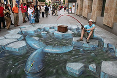 Amazing 3D Sidewalk Chalk Art 7 | by dwightgenius