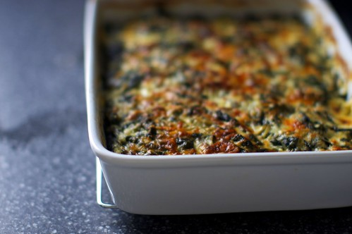 greens and yams gratin | by smitten kitchen