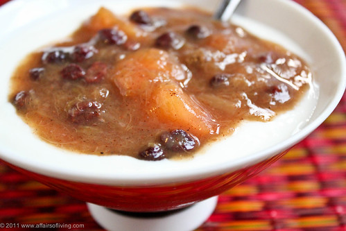 Rhubarb-Apple Compote | by Kim | Affairs of Living