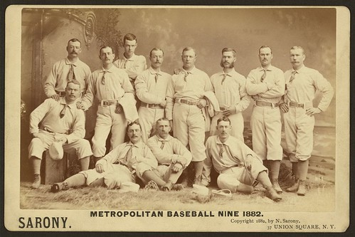 Metropolitan baseball nine 1882 (LOC) | by The Library of Congress