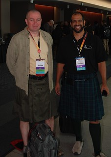 Kilt day at Sqlpass | by Lucid77