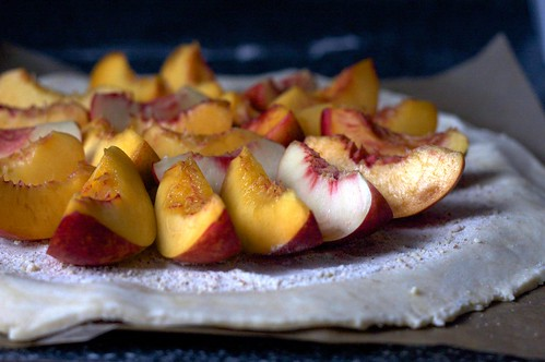 nectarines, ground almonds | by smitten kitchen