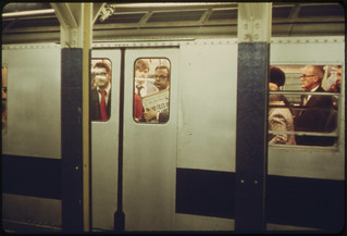 Commuters on Subway. 05/1973 | by The U.S. National Archives