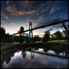 St Johns Bridge HDR Vertorama | by Sarah.Lynch
