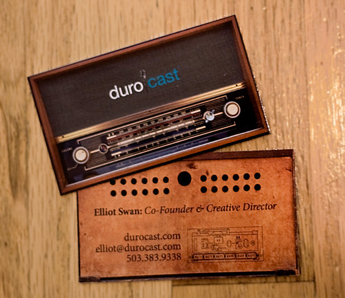 New DuroCast Business Cards | by Elliot Swan