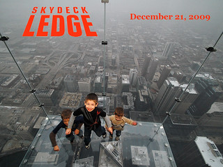 boys jumping off the Sears Tower | by Stephanie Precourt