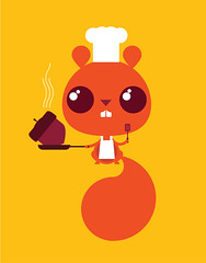 squirrley-chef | by Skinny Ships