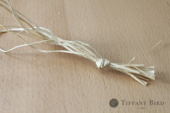 knotted raffia | by Simply Modern Mom