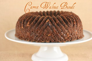 Carrot Walnut Bundt - I Like Big Bundts | by Food Librarian