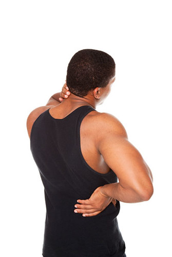 man - back and neck pain | by dgilder