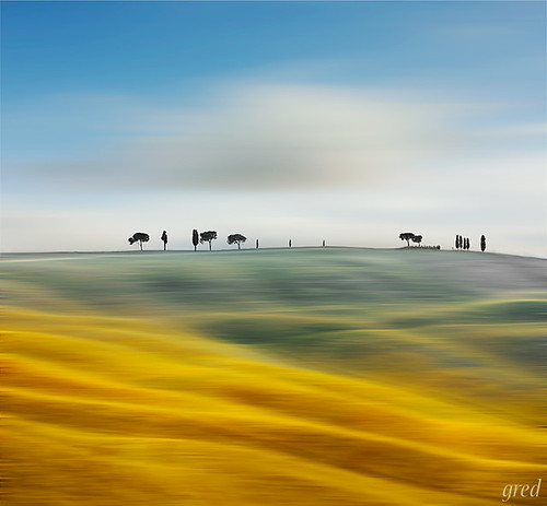 Surreal val d'Orcia | by gred.
