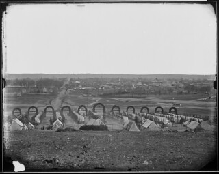 Camp of the 44th New York Infantry near Alexandria, Virginia. | by The U.S. National Archives