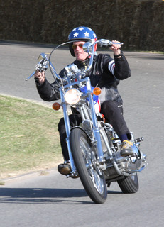 Peter Fonda riding Captain America | by exfordy