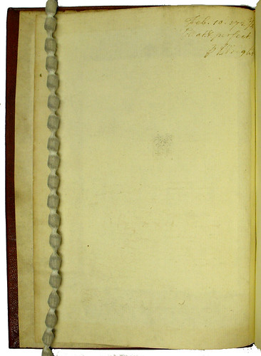 Ownership inscription in Alphonsus X, Rex Castellae: Tabulae astronomicae | by University of Glasgow Library