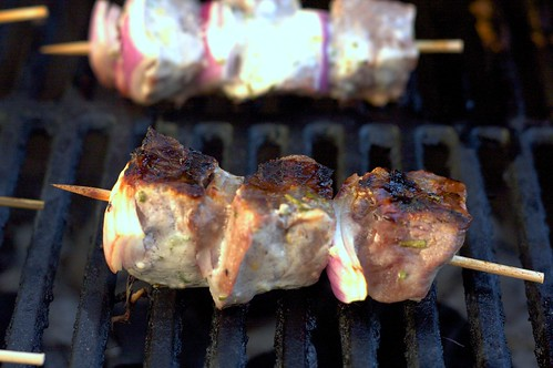 grilling kebabs | by smitten kitchen