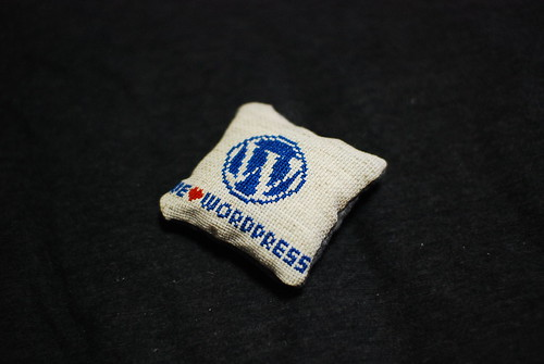 WordPress needle cushion | by odysseygate