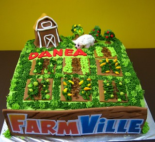 FarmVille cake | by Anita Jamal
