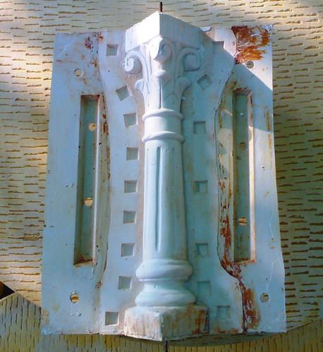 Balaustre y molde piedra artificial flickr - Moldes piedra artificial ...