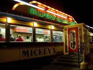 Late Saturday Night at Mickey's Diner | by kkmarais