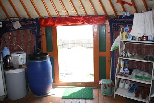 Entrance of a Mongolian ger tent | by East Asia & Pacific on the rise - Blog