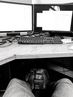 Shoes off at work 338 365 gregory gill flickr