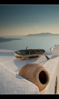 Greece - Boat on the Roof, Santorini | by Ryan_Hasselbach