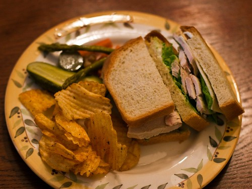 the season's first turkey sandwich | by Married with Dinner